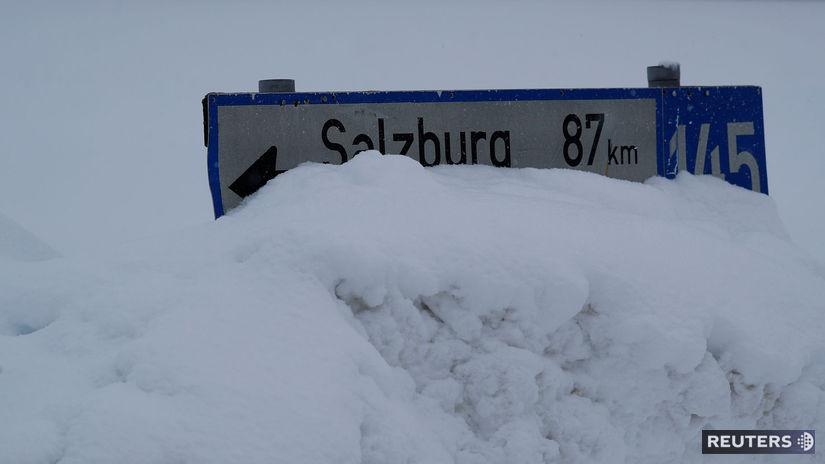 Rakúsko, Salzburg, sneh