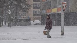 SR Bratislava počasie sneh doprava BAX