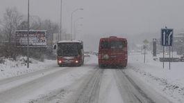 SR Bratislava počasie sneh doprava mhd autobus