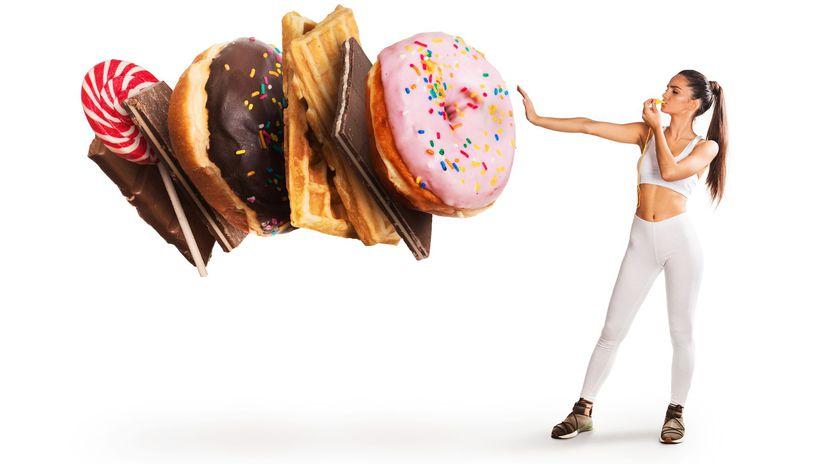 žena, dieta, chudnutie, stravovanie