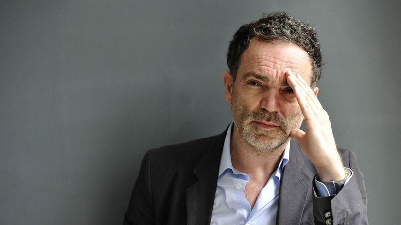 Francúzsky spisovateľ Yann Moix na zábere z...