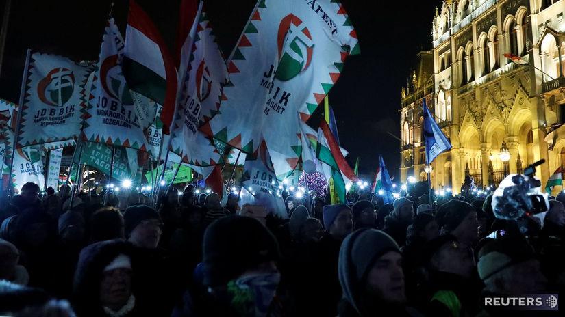 protest, maďarsko, orbán, budapešť