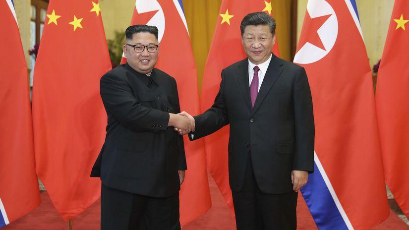 severná kórea, kim čong-un, čína