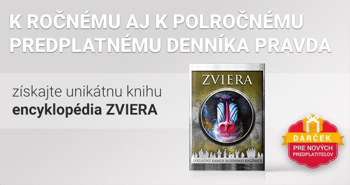 Polročné predplatné s encyklopédiou ZVIERA