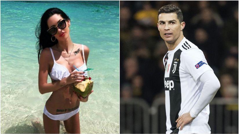 Jasmine Lennardová, Cristiano Ronaldo