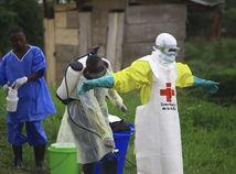 kongo, ebola, doktori, červený kríž, dezinfekcia