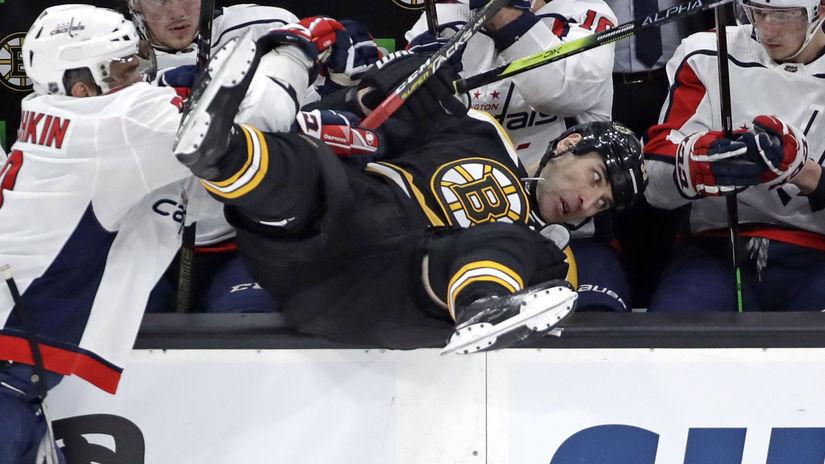 APTOPIX Capitals Bruins Hockey chára