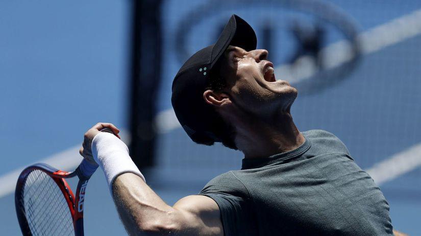 Austrália Australian open Murray tréning