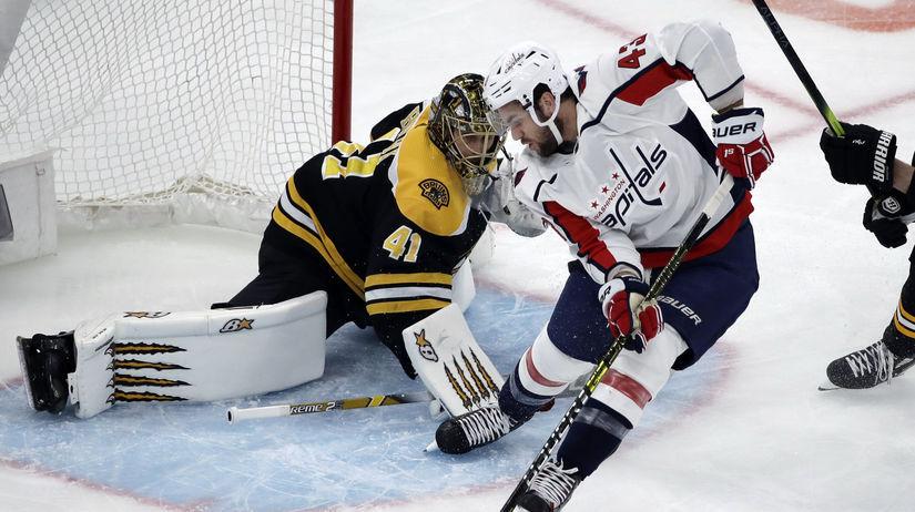 Capitals Bruins Hockey halák