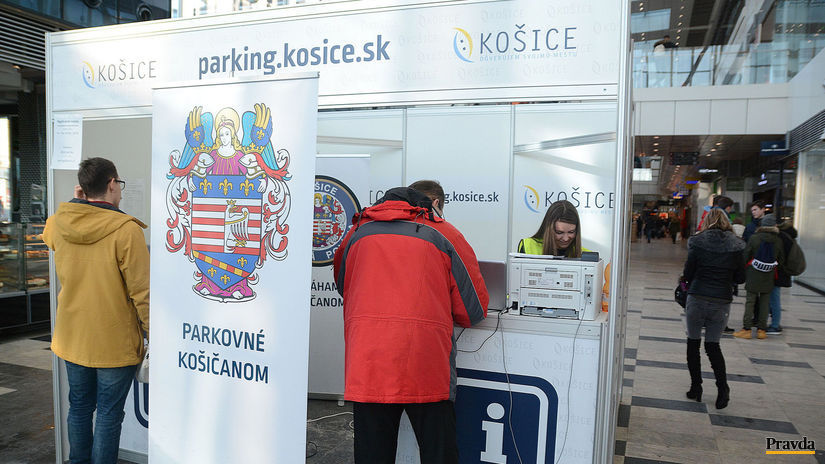 Košice, parkovanie, rezidenčná karta