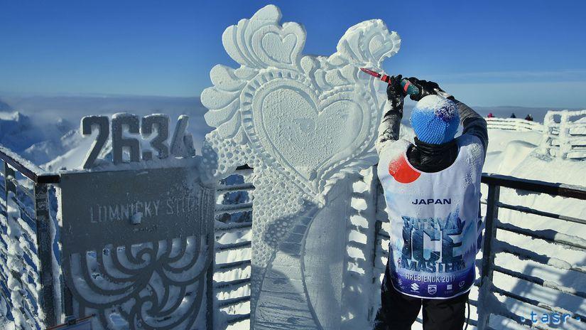 SR Vysoké Tatry ľadové Sochy Tatry Ice Master POX