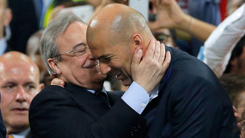 Florentino Pérez, Zinedine Zidane