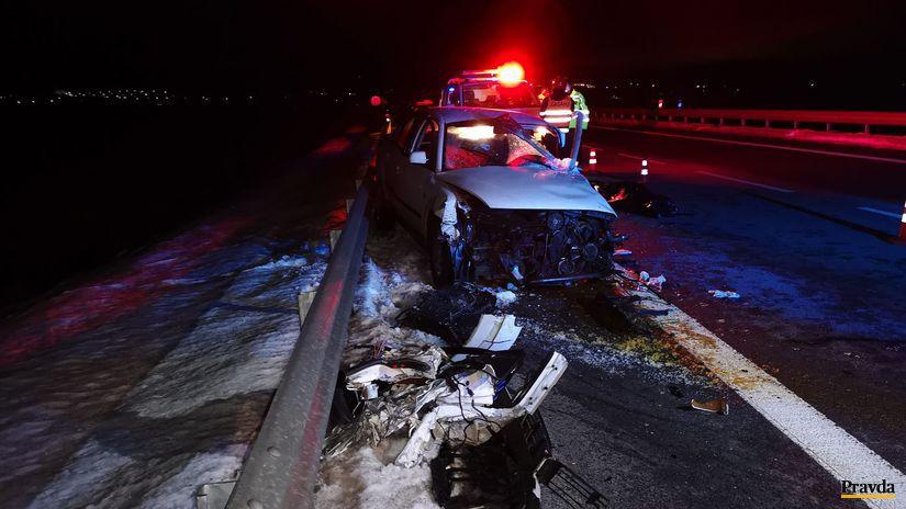 Nehoda dopravná, auto, cesta,