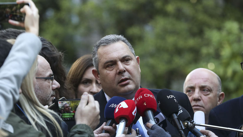 Grécko, demisia, Kammenos