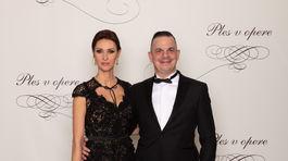Herec a režisér Dano Dangl a jeho manželka Beáta Danglová.