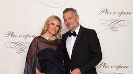 Hudobník Martin Žúži a jeho manželka Uršula Žúži.