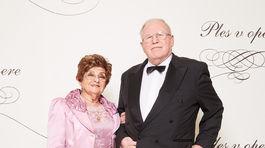 Lekár Pavel Traubner a jeho manželka Katarína.