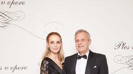 Modelka Zuzana Gottschal Mačasová a jej manžel Karol Gottschal.