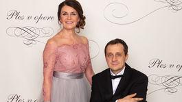 Predseda Slovenského paralympijského výboru Ján Riapoš a jeho manželka Bibiána.