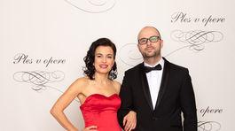 Riaditeľka Nadácie Pontis Lenka Suchotchak a jej partner.