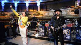 Súčasťou programu bola aj formácia Queenmania s falošným Freddiem Mercurym.