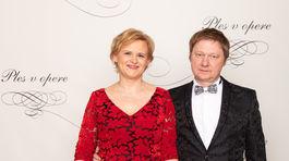 Terézia Drdulová zo Slovenskej spoločnosti pre spina bifida alebo hydrocefalus s manželom Andrejom.