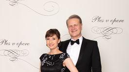 Vedec Jaroslav Fabián, kvantový fyzik, s manželkou Janou Fabiánovou.