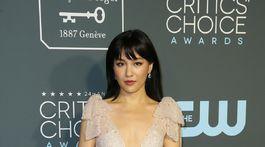 Herečka Constance Wu si na slávnostný večer obliekla šaty Rodarte.
