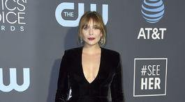Herečka Elizabeth Olsen sa predviedla v poriadne sexy výstroji.