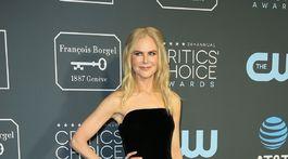 Herečka Nicole Kidman prišla v kreácii Armani Privé.