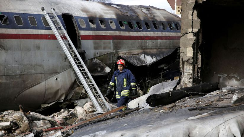 Irán lietadlo havária