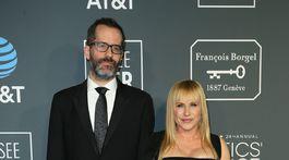 Partnerská dvojica Eric White a Patricia Arquette.