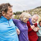 seniori, dôchodci,