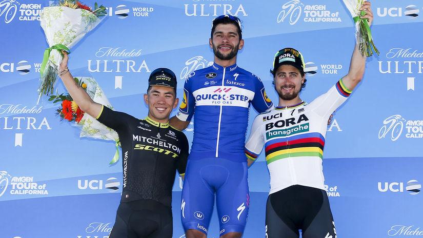 Tour of California Cycling Sagan Ewan