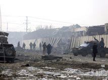 Afganistan Kábul útok výbuch teroristický militanti bezpečnostné zložky
