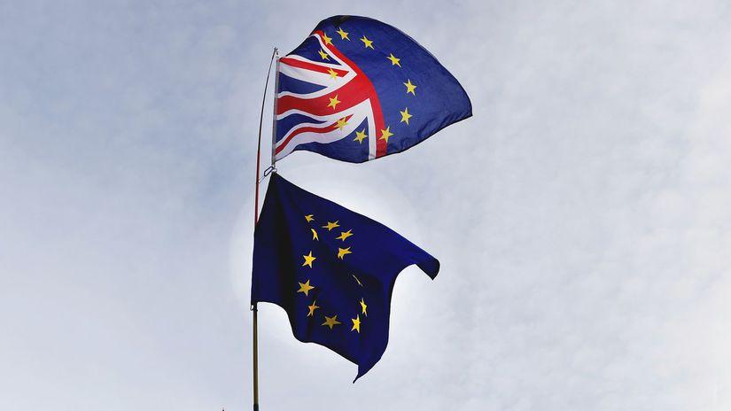 Británia, Brexit, eú, vlajka