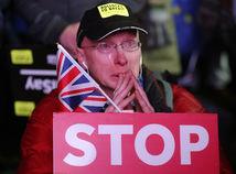 Británia EÚ brexit parlament rokovanie protesty