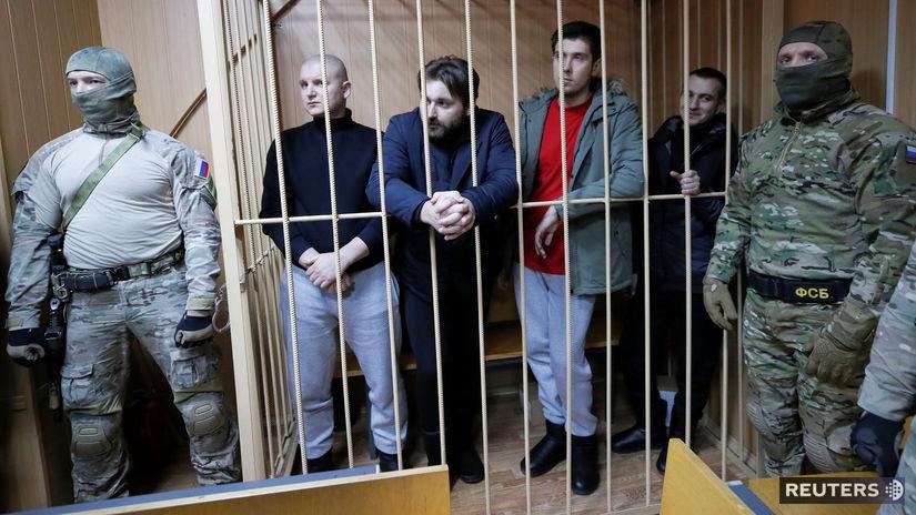 väzni, ukrajina, rusko, námorníci, vojaci,...