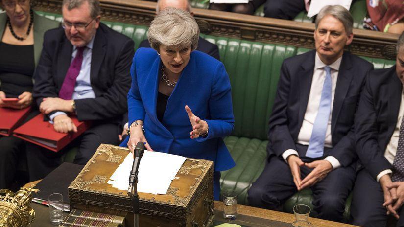 Británia, parlament, Dolná snemovňa, vláda, dôvera