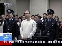 Čína Kanada občan drogy pašovanie trest smrti súd Schellenberg