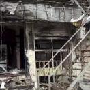 Sýria, manbidž, útok, výbuch, reštaurácia, dom, teroristický