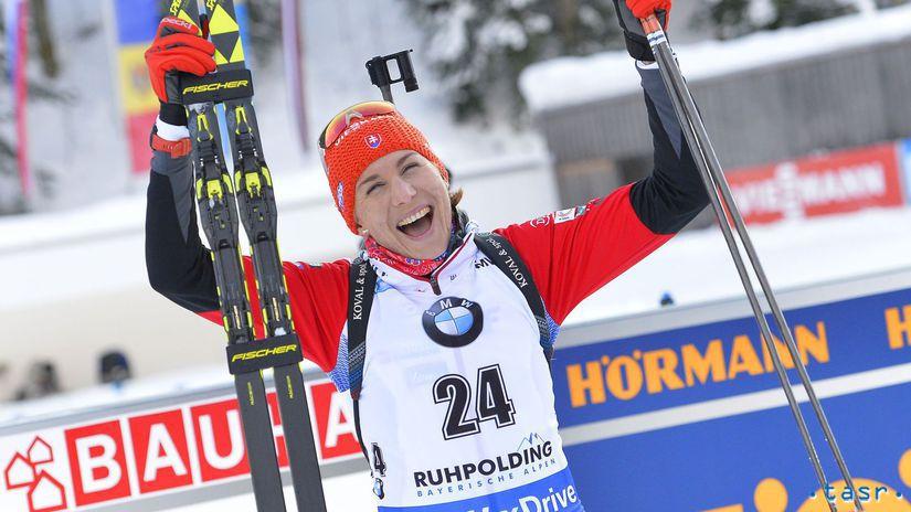 Nemecko SR Ruhpolding biatlon Kuzminová