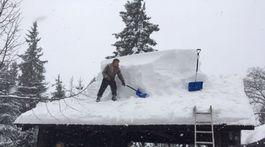 ORAVA: Snehová kalamita ohrozuje aj pamiatky