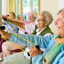 seniori, dôchodci, cvičenie