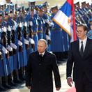 Putinovi sa pri príchode do Srbska dostalo veľkolepého uvítania