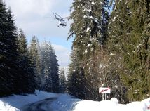SR MV Orava kalamita snehová vrtuľník ZAX