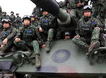 TAIWAN, delostrelectvo, tank, vojaci, armáda, cvičenie