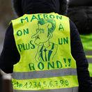 Francúzsko, protest, žlté vesty, Macron