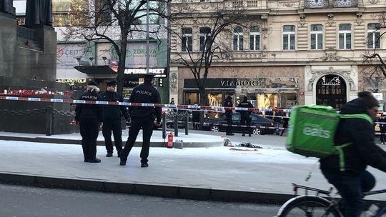 polícia, václavské námestie