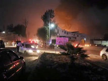 mexiko, výbuch, potrubie
